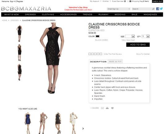 نمونه یک محصول با توضیحات مختصر در طراحی وب سایت تجارت الکترونیک