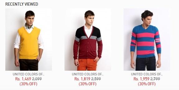 نمونه کالاهای تازه دیده شده در طراحی وب سایت تجارت الکترونیک