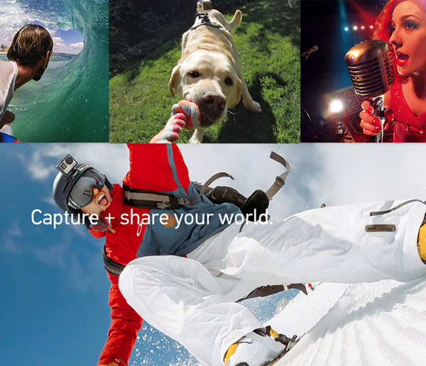 نمونه تصاویر تیزر که توسط دوربینهای شرکت گوپرو گرفته شده است، این نمونه در عکاسی برای فروش محصولات آنلاین استفاده میشود