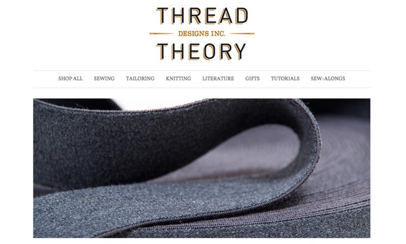 نمونه یک وبسایت فروشگاهی مناسب در حوزهی لباس: Thread Theory