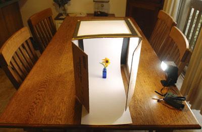 نمونهی ایجاد لایت باکس برای عکاسی از محصول